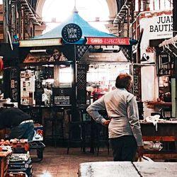Mercado de San Telmo | Foto:Cedoc