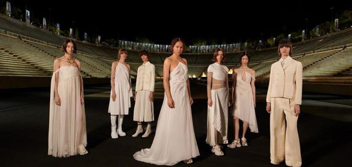 Dior presentó su colección inspirada en las diosas griegas