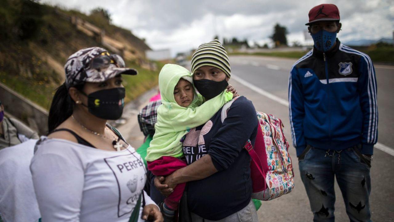 Refugiados venezolanos.  | Foto:DPA