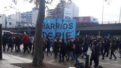 manifestación organizaciones sociales en el Centro porteño 20210618