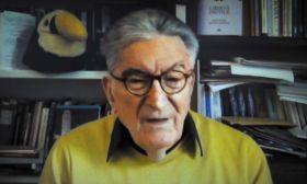 Gianfranco Pasquino, en la entrevista con Jorge Fontevecchia.