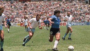 Diego Maradona, gol a Inglaterra en México 86