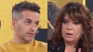 Ángel De Brito y Andrea Taboada