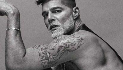 Conocé cómo es el tatuaje que Ricky Martín lleva en la pelvis