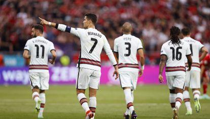 Cristiano Ronaldo vs Alemania
