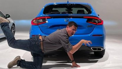 Se filtran tres imágenes claves del nuevo Honda Civic hatchback