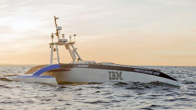 IBM quiere cruzar el océano Atlántico con un barco sin tripulación