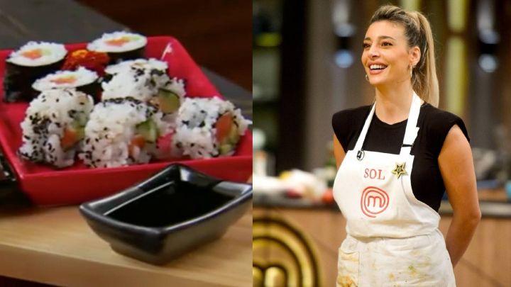 Día Mundial del Sushi: la receta de Sol Pérez con la que brilló en MasterChef Celebrity 2