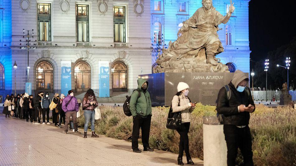 El segundo día mas frío del año en la Ciudad de Buenos Aires.
