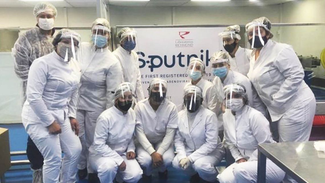 Laboratorios Richmond confirmed late Friday that it has completed the first locally made batch of doses of Sputnik V vaccine.