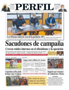 La tapa del Diario PERFIL de este sábado 19 de junio de 2021.