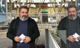 Víctor Santa María, en la entrevista con Jorge Fontevecchia.