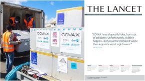 The Lancet apuntó contra la distribuición de COVAX.