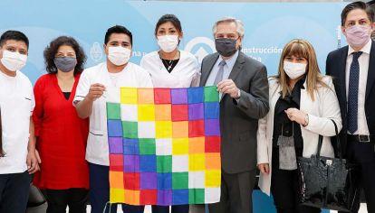 Acto. Fernández presentó una proyecto para enfermeros.