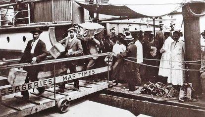 Ilusiones. Mucho llegaron en barcos atraídos por las posibilidades de encontrar un futuro próspero.