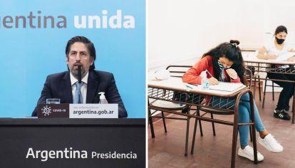 Fechas. El ministro Nicolás Trotta postergó las Aprender.