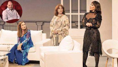 Vuelve Brujas, que cumplió treinta años desde su estreno. Suben al escenario del Tabarís parte de su elenco histórico: Thelma Biral, Nora Cárpena y Moria Casán.