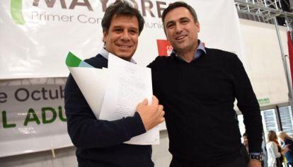 CON MANES. Mestre elige al neurólogo como referente nacional, por encima de Macri y Larreta.