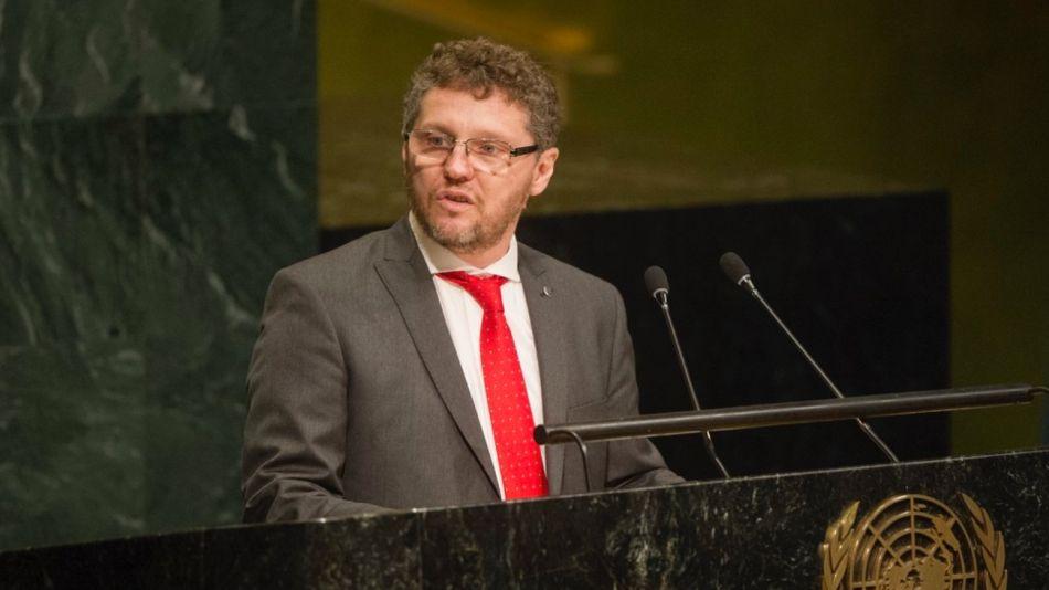 Fabián Salvioli, relator de la ONU en Ginebra.