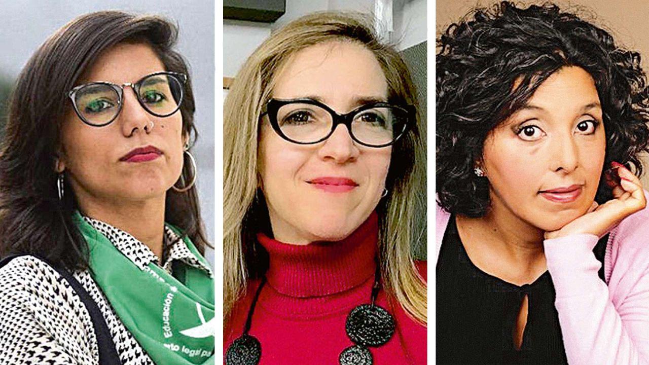 Equipo. Florencia Alcaraz, Ingrid Beck y Soledad Vallejos. | Foto:cedoc