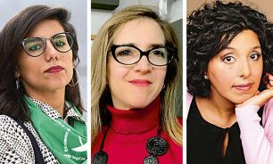Equipo. Florencia Alcaraz, Ingrid Beck y Soledad Vallejos.