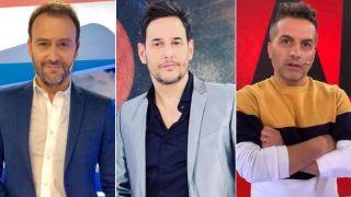Adrian Pallares, Rodrigo Lussich y Angel de Brito