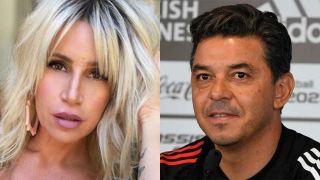Florencia Peña y Marcelo Gallardo