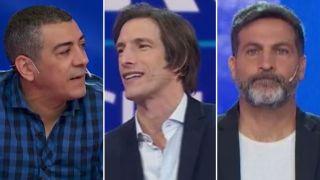 Walter Queijeiro, Ivan de Pineda y Toti Pasman