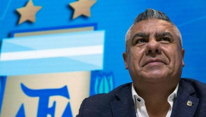 Si la IGJ impugna su reelección, el futuro de Tapia en AFA se acorta.