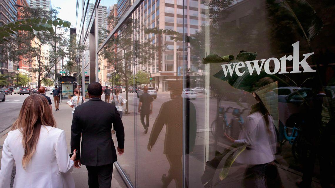 WeWork records best net desk sales since September 2019.