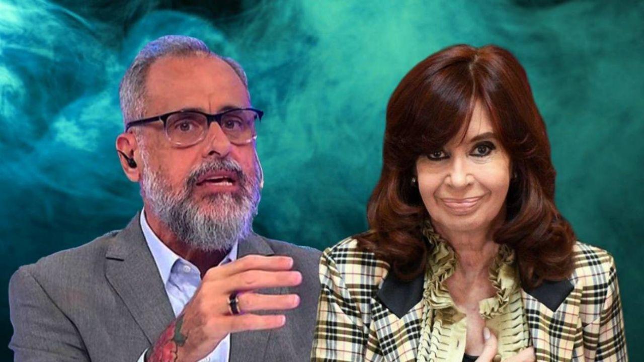 Jorge Rial y Cristina Fernández   Foto:CEDOC