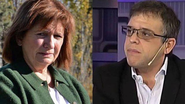Patricia Bullrich y Christian D'Alessandro 20210621