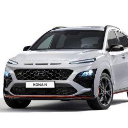 El nuevo SUV KONA N incorpora una combinación de guardabarros del color de la carrocería y llantas de 19 pulgadas.