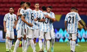 argentina national team albiceleste 2021