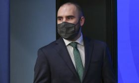 Economy Minister Martín Guzmán.
