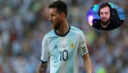 Ibai transmite la Copa América por Twitch