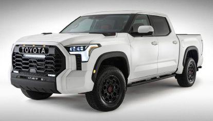 Toyota publica las tres primeras fotos oficiales de la nueva Tundra