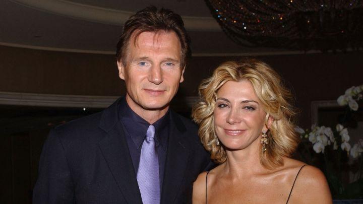 El homenaje diario de Liam Neeson a su mujer a 13 años de su muerte