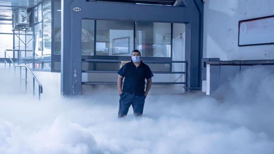 Escape de oxígeno 20210622