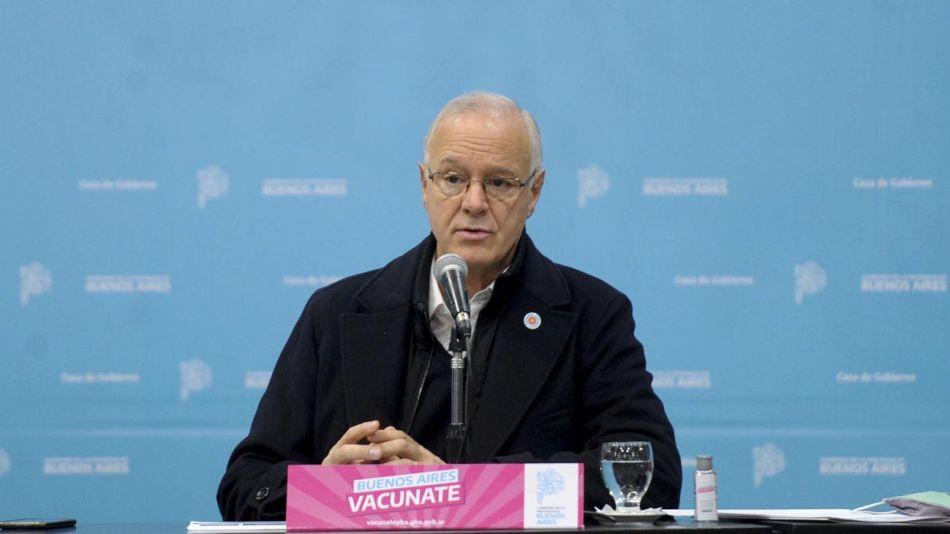 Ministro de salud de la provincia de Buenos Aires Daniel Golán 20210622