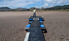 colombia dry lagoon climate change
