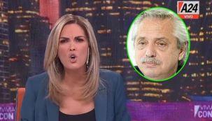 Viviana Canosa y Alberto Fernández 2306