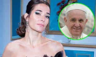 Juana Viale y el Papa Francisco 2306