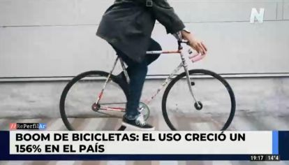Boom de las bicicletas: su uso creció un 156%