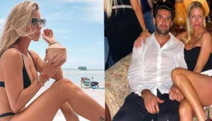 Nicole Neumann viajó con su novio en Miami y coincidió con su ex