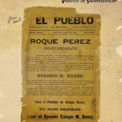 Hasta el año 1912, Roque Pérez era parte integral de la ciudad de Saladillo y tenía una superficie de 194.388 hectáreas,
