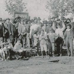 Primeros habitantes de Roque Pérez.