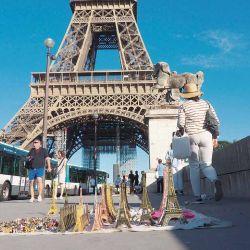 Paris en la mira de los turistas. Mientras llega el momento de ir, acumulá millas para no pagar el pasaje de avión.
