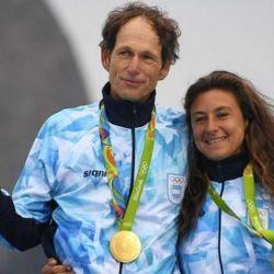Santiago Lange y Cecilia Carranza han conformado una dupla perfecta. En 2016 consiguieron la medalla de oro en los Juegos de Río.