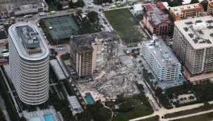 Derrumbe en Miami tarde 20210624